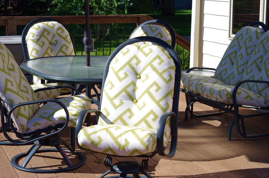 Sofa And Patio Cushions Using Customer S Fabrics And High