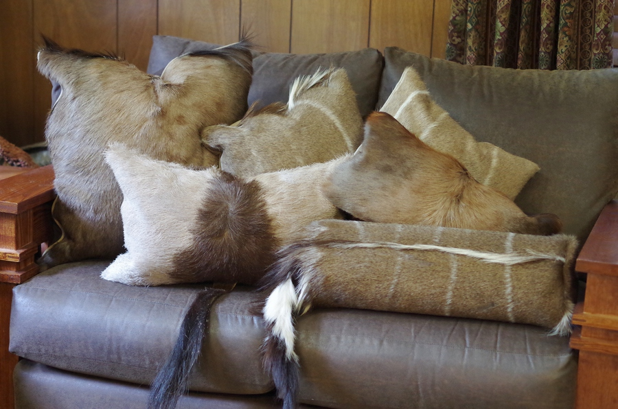 Custom Sewn and Designed Decorative Throw Pillows using Clients Fabrics and Our Finest Quality ...